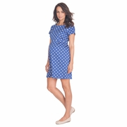Seraphine Martina Short Sleeve Polka Dot Dress