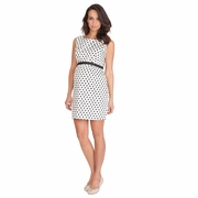 Seraphine Martina Sleeveless Polka Dot Dress