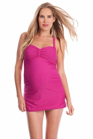 SOLD OUT Seraphine Martinique Sweetheart Long Length Maternity Tankini