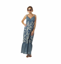 Seraphine Matilda Bohemian Printed Maternity Nursing Maxi Dress