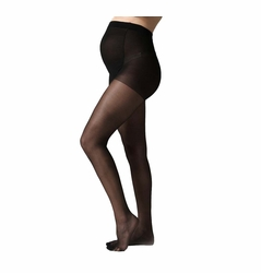 TEMPORARILY OUT OF STOCK Seraphine Mother 40 Denier Semi Opaque Overbelly Maternity Pantyhose