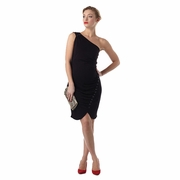 Seraphine Nergis Maternity Cocktail Dress With Sequin Buttons