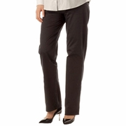 Seraphine Petra Sateen Finish Maternity Straight Leg Trousers