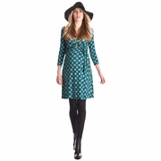 SOLD OUT Seraphine Peyton Retro Print Maternity Nursing Dress