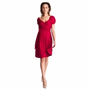 Seraphine Roxette Maternity Wrap Dress