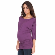 Seraphine Saskia Maternity Nursing Snap Down Tunic Top