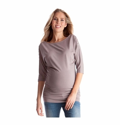 SOLD OUT Seraphine Saskia Maternity Nursing Snap Down Tunic Top