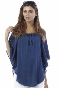Seraphine Savannah Asymmetrical Maternity Top/Beach Cover Up