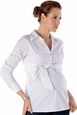 Seraphine Stacey Empire Sash Career Maternity Shirt