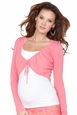 Seraphine Valerie Drawstring Crop Cardigan Maternity Sweater