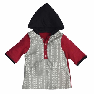 Shirley & Victor by Majamas Baby Boy Henry Hoodie Top