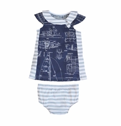Shirley & Victor by Majamas Baby Girl Jane Dress