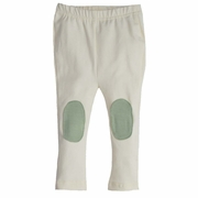 Shirley & Victor by Majamas Baby Girl Organic Cotton Skate Legging