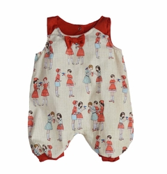 Shirley & Victor by Majamas Baby Girl Peggie Onesie