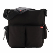 Skip Hop Duo Deluxe Edition Diaper Bag - Black