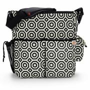 SOLD OUT Skip Hop Jonathan Adler Duo Deluxe Diaper Bag - Black Nixon