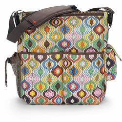 SOLD OUT Skip Hop Jonathan Adler Duo Deluxe Diaper Bag - Multi Wave