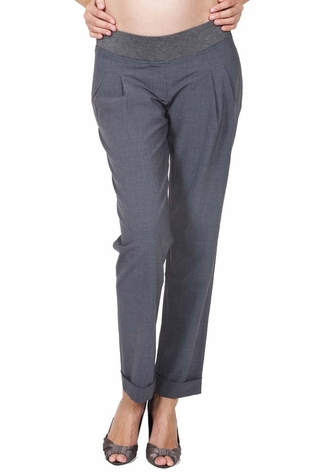 SOLD OUT Slacks & Co. Vienna Cuffed Maternity Trouser