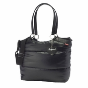 SOLD OUT Babymel Camden Carry All Puff Diaper Bag - Black