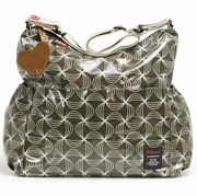 SOLD OUT Babymel Twisted Olive Slouchy Diaper Bag