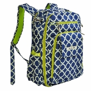 SOLD OUT Be Right Back Backpack Style Diaper Bag - Royal Envy by Ju-Ju-Be
