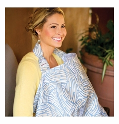 SOLD OUT Bebe au Lait Cotton Nursing Cover - Fontaine