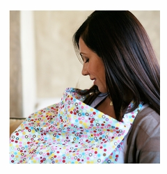 SOLD OUT Bebe au Lait Cotton Nursing Cover - Hot Dots