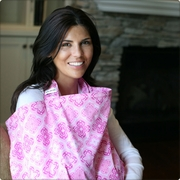 SOLD OUT  Bebe au Lait Shrine Pink Nursing Cover