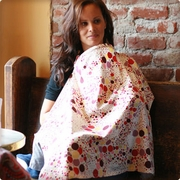 SOLD OUT  Bebe au Lait Soft Spot Nursing Cover