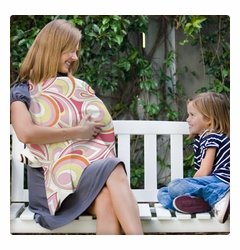 SOLD OUT Bebe au Lait Valencia Nursing Cover