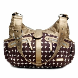 SOLD OUT Bronze Swag Diaper Bag by JJ Cole Collections