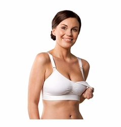SOLD OUT Carriwell Seamless Padded Maternity And Nursing T Shirt Bra