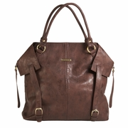 Timi And Leslie Charlie Diaper Bag Tote - Cocoa Brown
