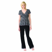 SOLD OUT  Combo Safari Nursing Pajamas Set by Majamas