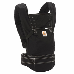 Ergo Sport Baby Canvas Carrier - Black by Ergobaby