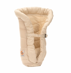 SOLD OUT Ergobaby Performance Mesh/Cotton Infant Insert - Natural