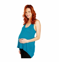 SOLD OUT Everly Grey Aspen Asymmetrical Maternity Tank Top