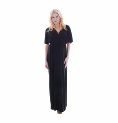 SOLD OUT Everly Grey Goddess Maternity Maxi Dress