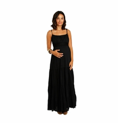 SOLD OUT Everly Grey Poppy Maternity Maxi Dress