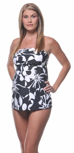 SOLD OUT Flower Power Strapless Maternity Swimsuit by Prego