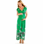 Jade Maxi Maternity Dress by See You in Miami