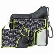 SOLD OUT JJ Cole Collections System 180 Diaper Bag - Black Damask Diaper Bag