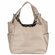 SOLD OUT JP Lizzy Satchel Diaper Bag - Sandstone