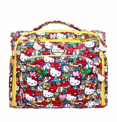 SOLD OUT Ju-Ju-Be B.F.F. Tote/Backpack Style Diaper Bag - Hello Kitty Tick Tock