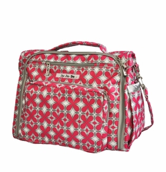 SOLD OUT Ju-Ju-Be B.F.F. Tote/Backpack Style Diaper Bag - Pink Pinwheels