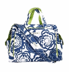 SOLD OUT Ju-Ju-Be Be Prepared Messenger/Tote Diaper Bag - Cobalt Blossoms