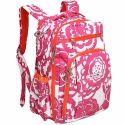 SOLD OUT Ju-Ju-Be Be Right Back Backpack Style Diaper Bag - Fuchsia Blossoms