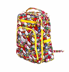 SOLD OUT Ju-Ju-Be Be Right Back Backpack Style Diaper Bag - Hello Kitty Tick Tock