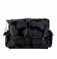 SOLD OUT Kalencom Coated Buckle Diaper Bag - Matte Stitches Navy