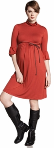 SOLD OUT Lantern Sleeve Maternity Dress by Maternal America